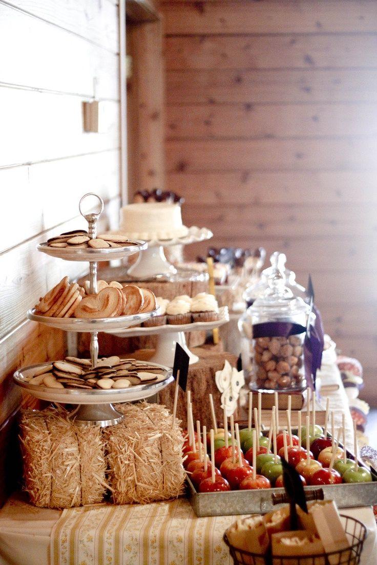 Best 25 Rustic dessert tables ideas on Pinterest