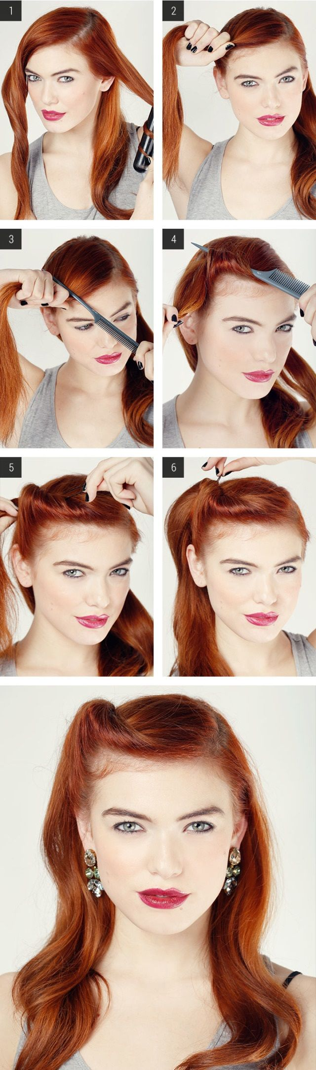 25 Best Ideas About Retro Hairstyles On Pinterest Easy Vintage