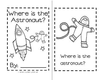 This little sight word reader can be added to any Space