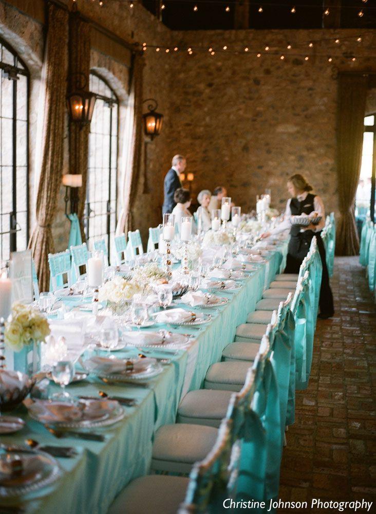 Wedding Decor Blue