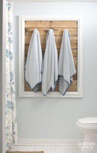 Best 25+ Bathroom towel racks ideas on Pinterest