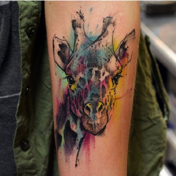 20 Giraffe Bear Elephant Tattoos Ideas And Designs