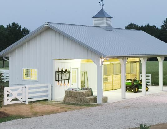 Dream Barn | Everything you need to plan and build the barn of your dreams