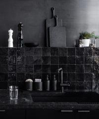 Best 25+ Black tiles ideas on Pinterest | Bathroom worktop ...