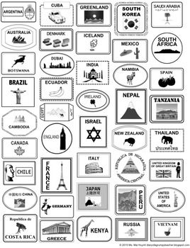 25+ best ideas about Passport template on Pinterest