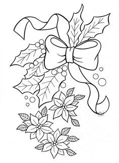 1000+ images about Embroidery Christmas Holly on Pinterest