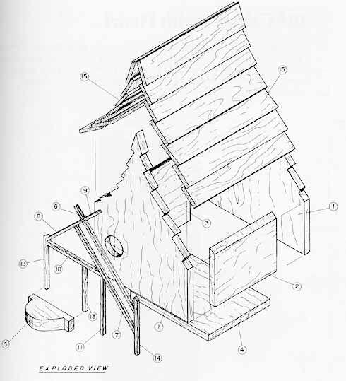 Victorian Birdhouse Plans Free
