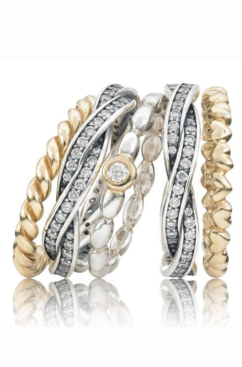 63 best Stack Attack  Pandora Rings images on Pinterest