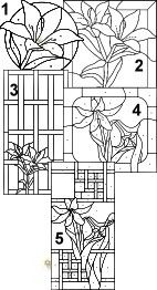 37 best images about Arts & Crafts Stained Glass on