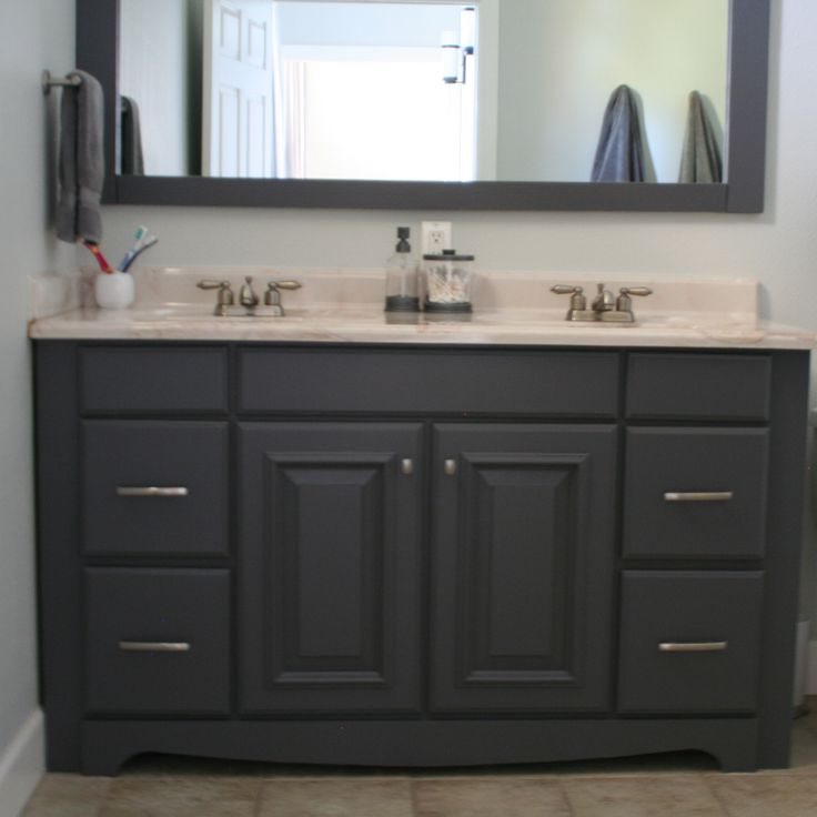 1000 ideas about Painting Bathroom Vanities on Pinterest