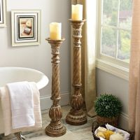 25+ best ideas about Floor candle holders on Pinterest