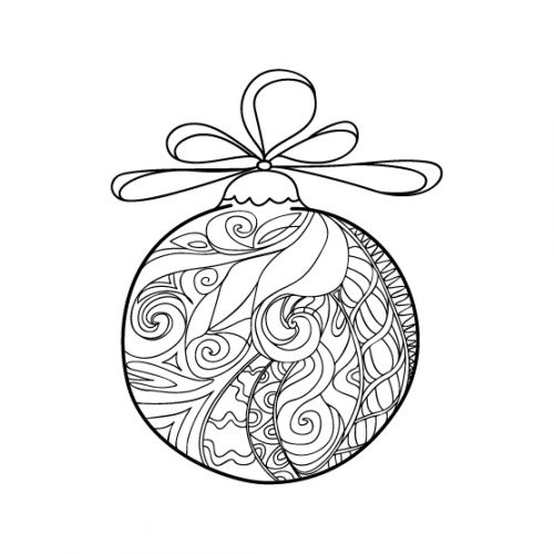 42 best images about Advanced Christmas Coloring on