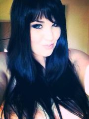1000 blue black hair
