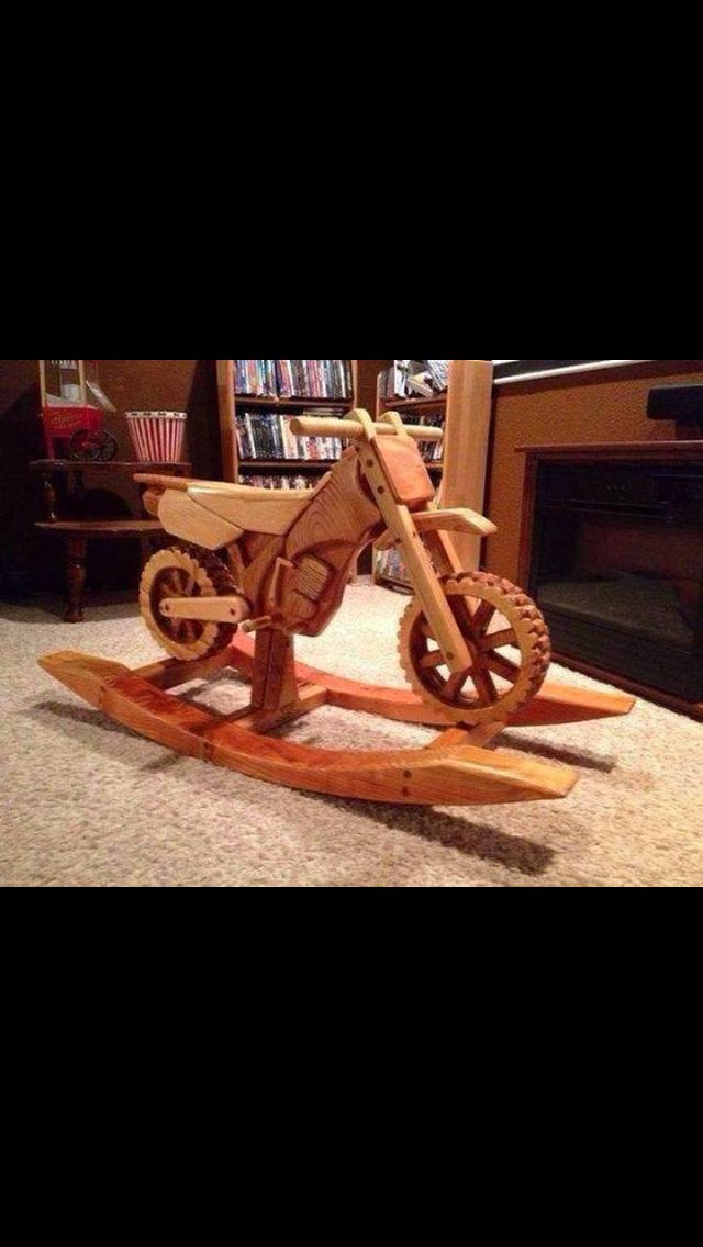 wood rocking chair parts posture corrector for office plans motorcycle horse - woodworking projects &
