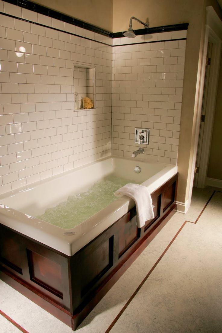 1909 whole house remodel bathroom featuring subway tile