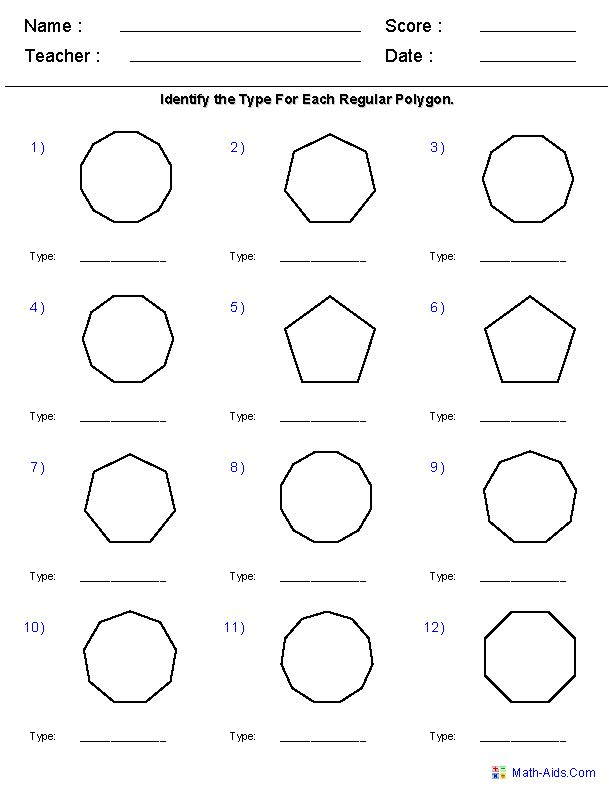 17 Best images about Math (Polygons) on Pinterest