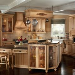 Kraftmaid Kitchens Gallery Kitchen Valance Curtains This Traditional With Cabinetry And A ...