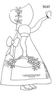 11283 best images about Crafts:Quilting-Doll, Sunbonnet