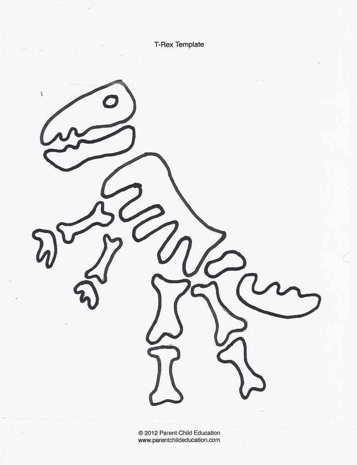 17 Best ideas about Dinosaur Template on Pinterest
