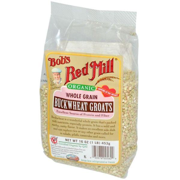 Bob39s Red Mill Organic Whole Grain Buckwheat 16 oz 453