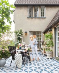 Best 25+ Painted Concrete Outdoor ideas on Pinterest ...
