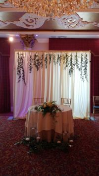 17 Best ideas about Sweetheart Table Backdrop on Pinterest ...