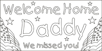 25+ best ideas about Welcome home banners on Pinterest
