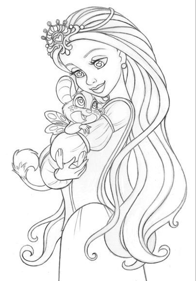 66 Ava Coloring Page