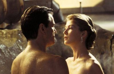 Rosamund Pike appeared alongside Pierce Brosnan in Die Another Day