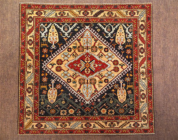 Square Rugs 3x3 Adirondack Ivorysilver Ft In X Ft In With