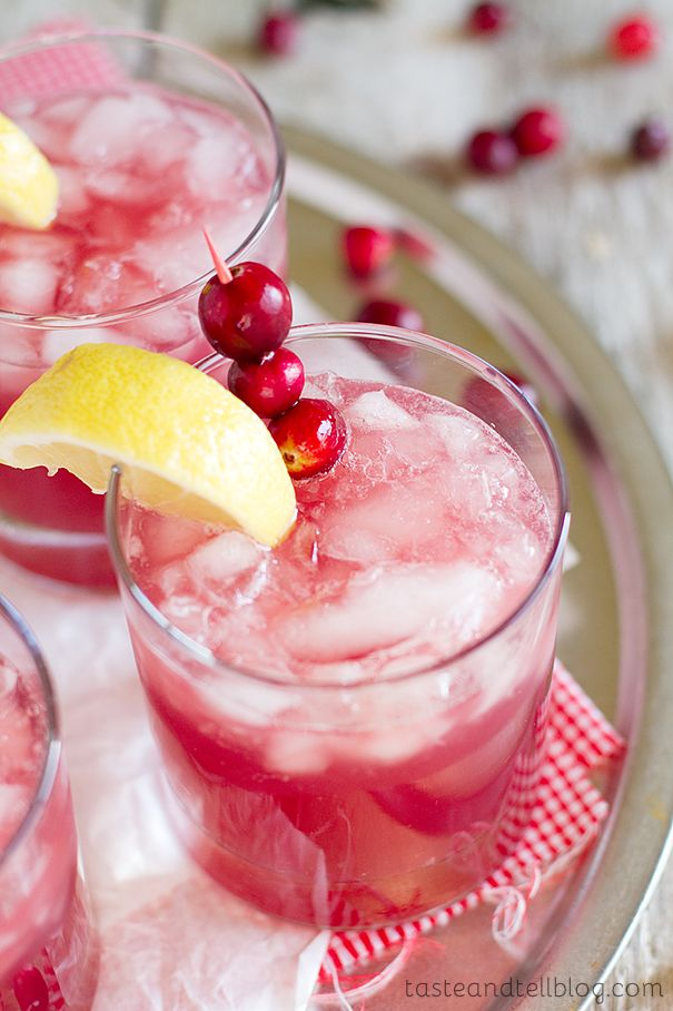 The perfect holiday drink, this Sparkling Cranberry Punch is family friendly and only takes minutes to prepare!