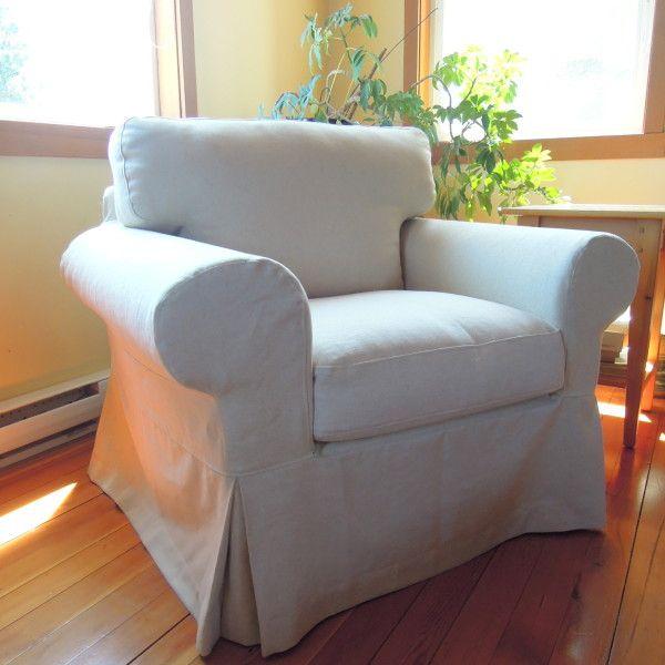 Beautiful slipcovers for Ikea Ektorp chair slipcover