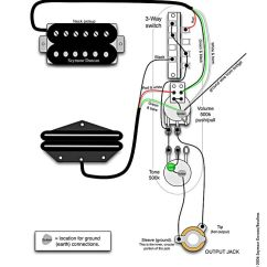 Dimarzio Wiring Diagram 2007 Subaru Impreza Tele Diagram, 2 Humbuckers, Push/pulls | Telecaster Build Pinterest