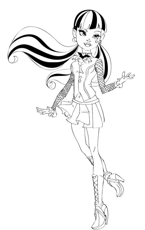 229 best images about Monster High Coloring Page on