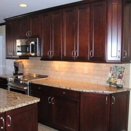 Kitchen Remodel with Maple Cabinets in Cranberry and St