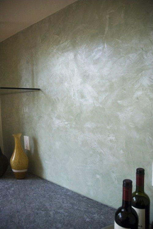 venetian plaster  looks like a pearl  For the Home