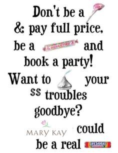 BOOK a party w/ me TODAY and you will WIN the BUSY WOMAN'S