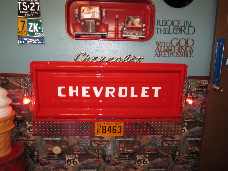 Chevy Tailgate Desk Things I Have Made Pinterest