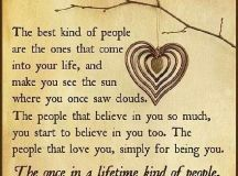 the once in a lifetime kind of people   quotes sayings ...
