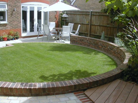The 25 Best Ideas About Small Back Gardens On Pinterest Small