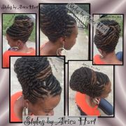 stuffed twist hairstyles black