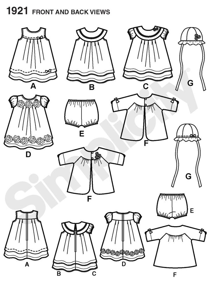 17 Best images about Sewing--Baby clothes on Pinterest