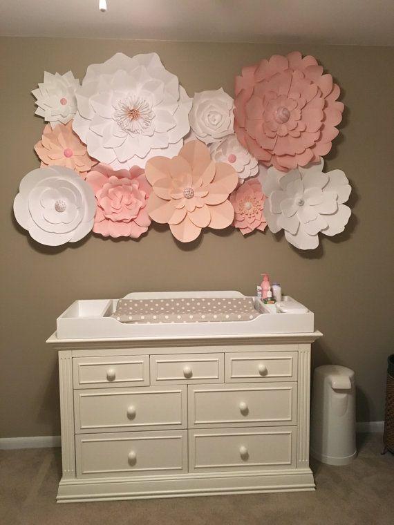 17 Best ideas about Paper Flower Wall on Pinterest
