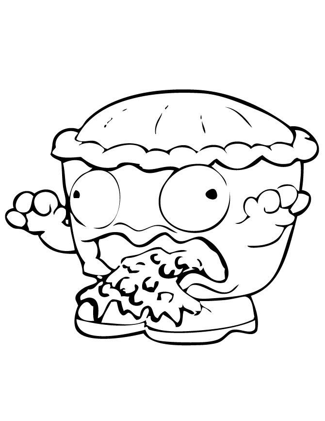 Fun Coloring Pages Trash Pack Coloring Pages