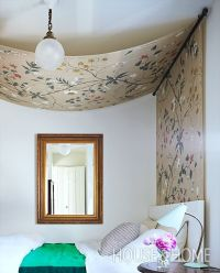 17 Best ideas about Curtain Rod Canopy on Pinterest | Bed ...