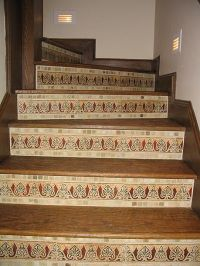 17 Best ideas about Stair Risers on Pinterest | Tile on ...