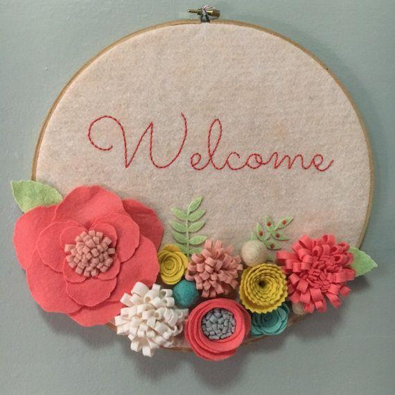 10+ best ideas about Embroidery Hoop Art on Pinterest