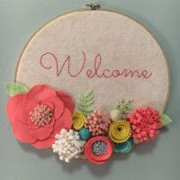 10+ best ideas about Embroidery Hoop Art on Pinterest