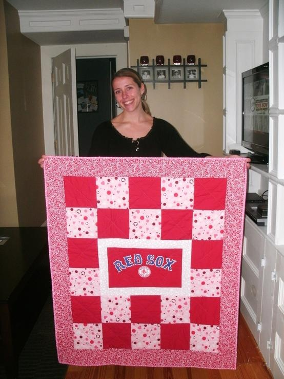 15 Best Images About Red Sox Quilts On Pinterest Quilt Boston