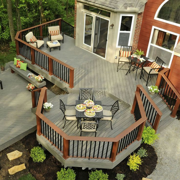 25 Best Ideas About Raised Deck On Pinterest Deck Design